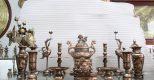 Bộ đồ thờ bằng đồng tam sự – ngũ sự có ý nghĩa thế nào trong văn hóa tâm linh Việt?