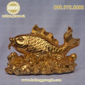 Cá chép mạ vàng