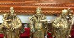Cách bày tượng Tam Đa trên bàn thờ thuận theo phong thủy
