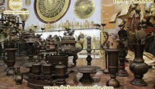 Đồng mỹ nghệ cao cấp Quang Hà – Địa chỉ sản xuất, chế tác đồ đồng tinh xảo