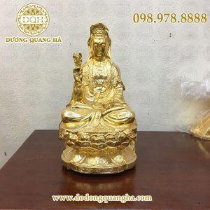 Phật bà mạ vàng