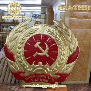 Quốc hiệu đảng đồng vàng