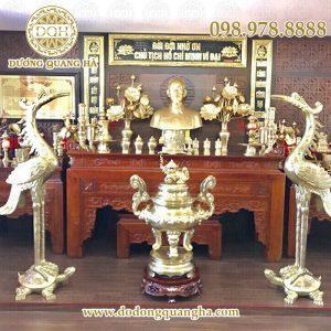 Thiết kế và thi công đồ thờ cho đền, chùa, nhà thờ họ, gia đình