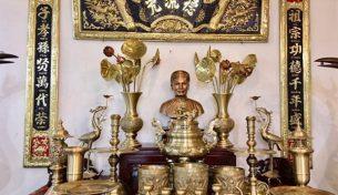 Đồ thờ cúng bằng đồng trong văn hóa tâm linh của người Việt