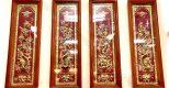 Treo tranh Tứ quý bằng đồng tại nơi thờ cúng có phù hợp không?