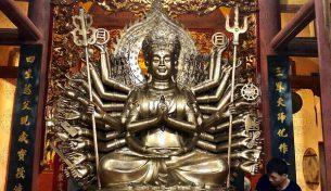 Tìm hiểu dấu ấn của Phật giáo qua tượng đồng Phật Thiên Thủ Thiên Nhãn