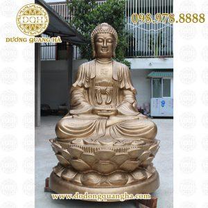 Tượng Phật a di đà cao 2m
